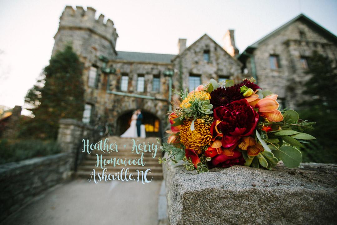 Heather Noel Wright & Kerry Millard Myers wedding at Homewood in Asheville, NC