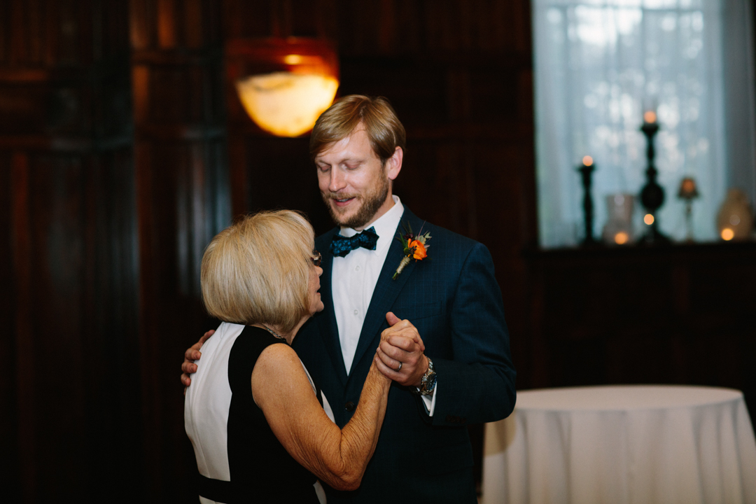 Kerry having the mother son dance