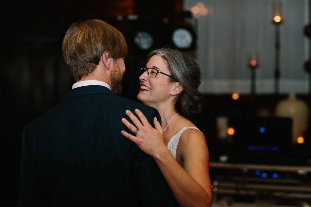 Bride and Groom having first dance