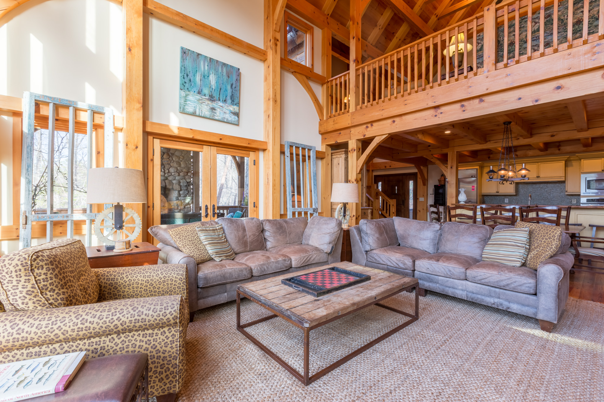 Interior real estate pictures of 48 Cottage Grove on Lake James