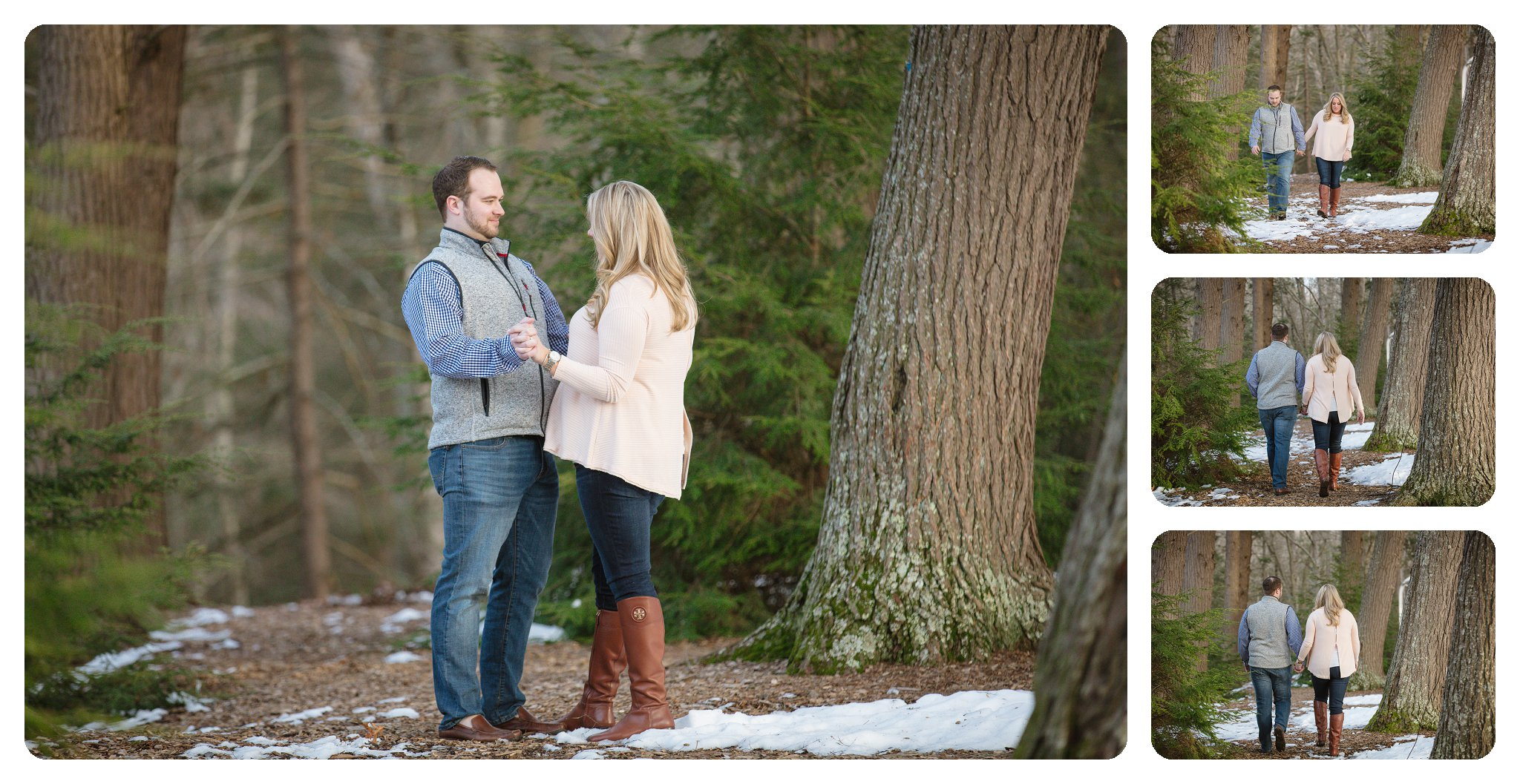 Surprise proposal at Biltmore Estate in Asheville NC on Diana Hill - 5