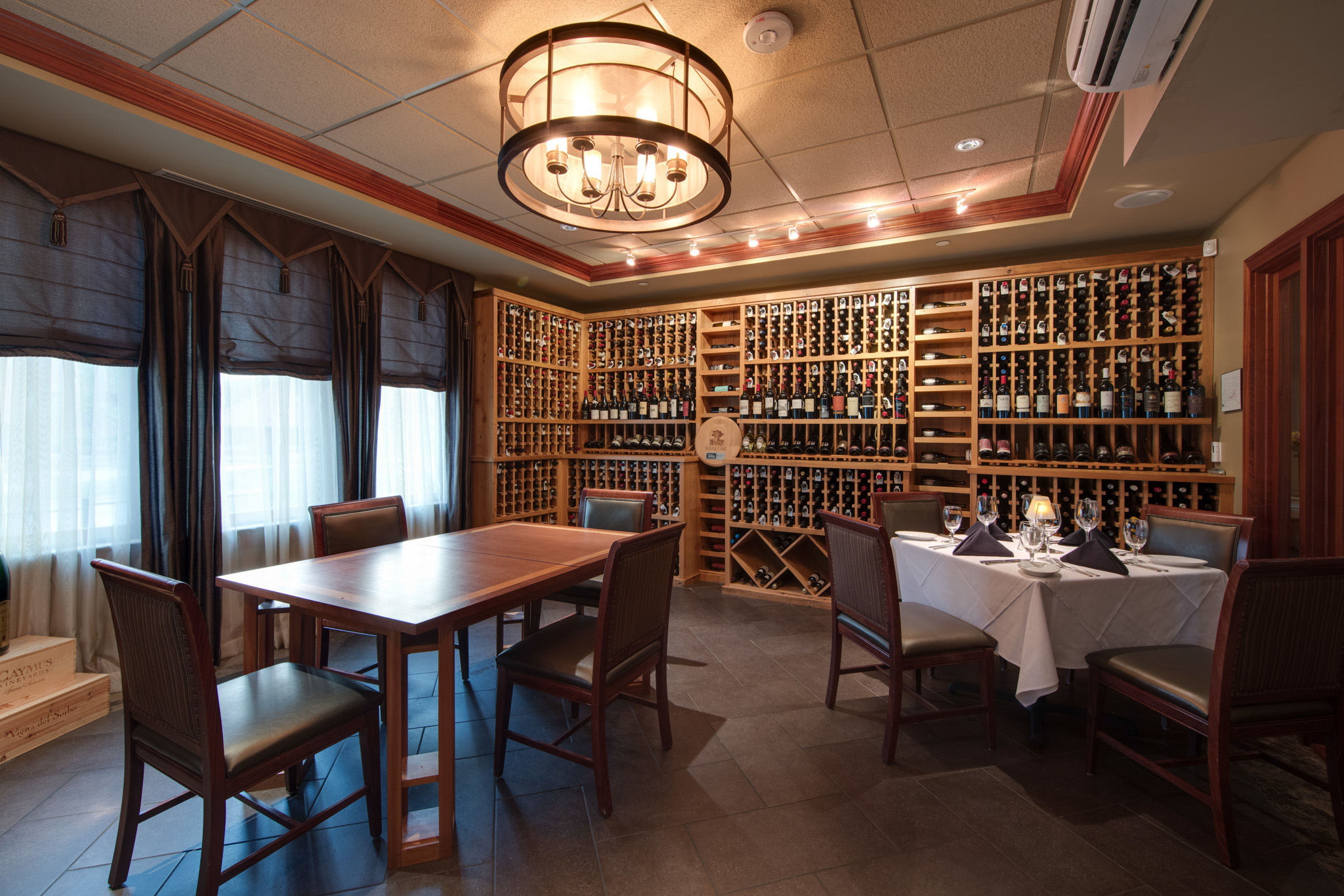 Ruth's Chris Steak House - Wine cellar