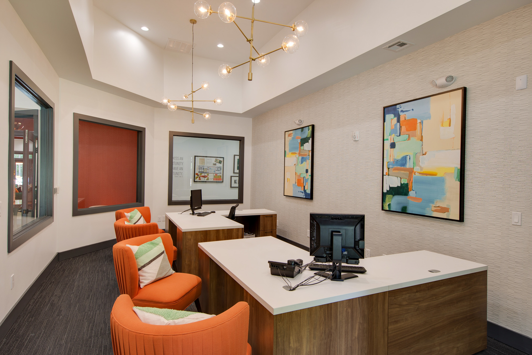 Office - Shellbrook Apartments   Apartments in Raleigh NC Commercial Photo shoot and Virtual Tour