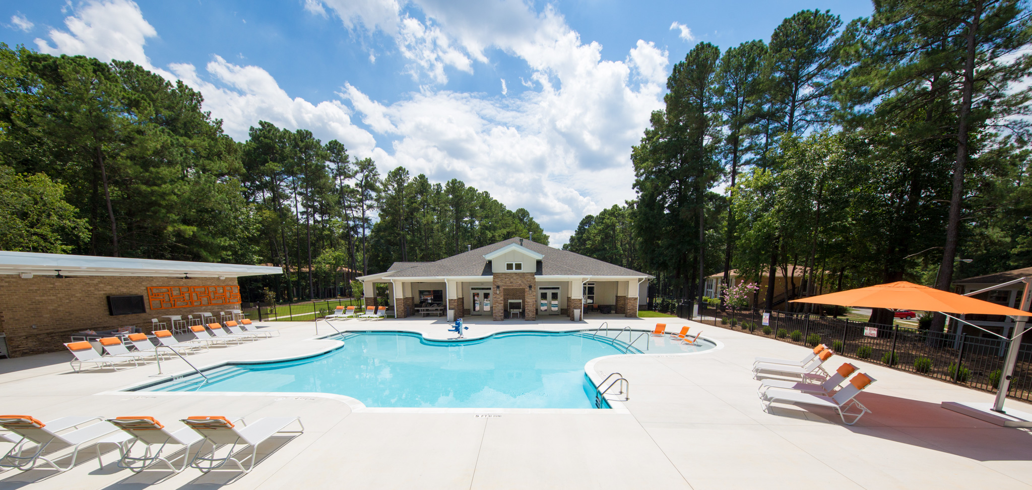 Pool - Shellbrook Apartments | Apartments in Raleigh NC Commercial Photo shoot and Virtual Tour