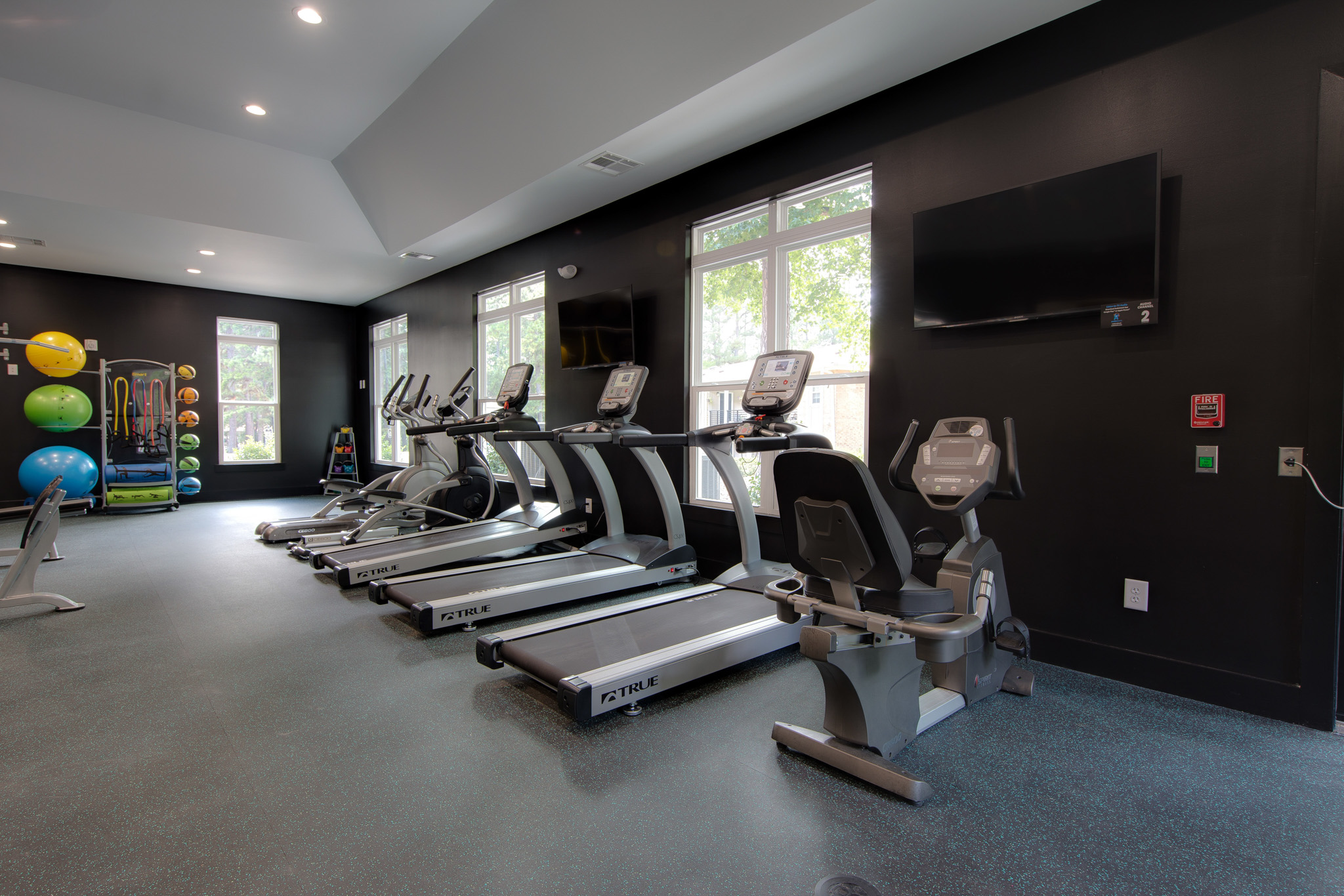 Fitness Center - Shellbrook Apartments | Apartments in Raleigh NC Commercial Photo shoot and Virtual Tour
